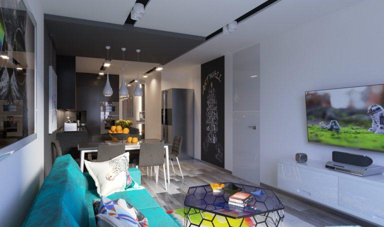 Кухня-гостиная 03V6 2